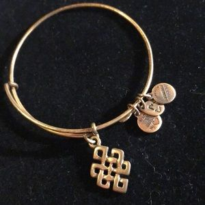 Alex and Ani bracelet gold